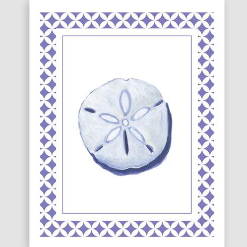 $40.00 11x14 Sand Dollar Art Print