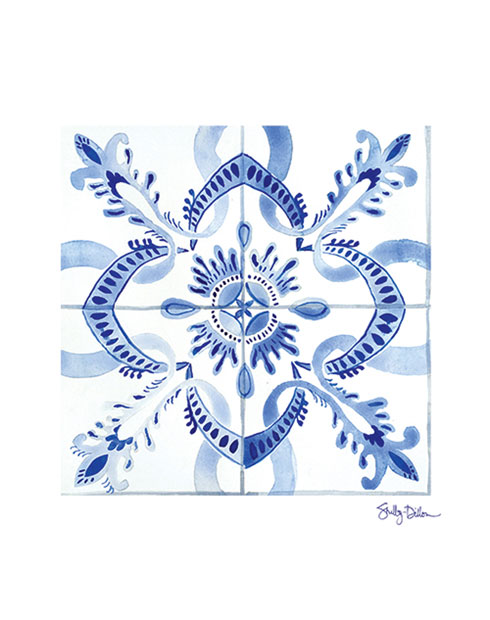 $40.00 11x14 Moroccan Tile Art Print