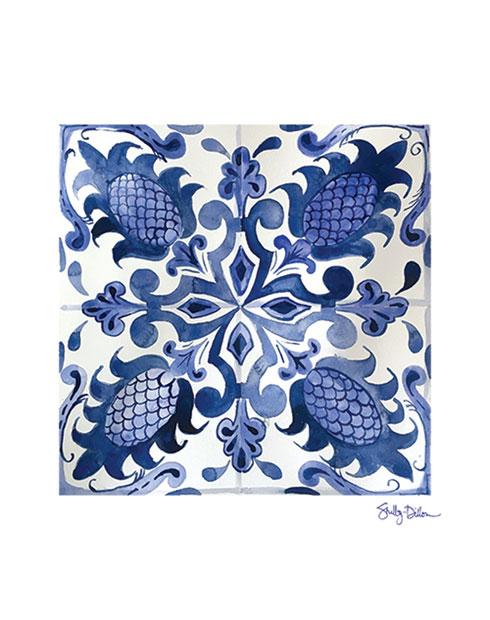 $19.00 Portuguese Tile Art Print