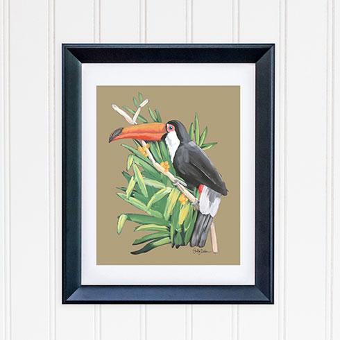 $30.00 8x10 Toucan Bird 2 Art Print