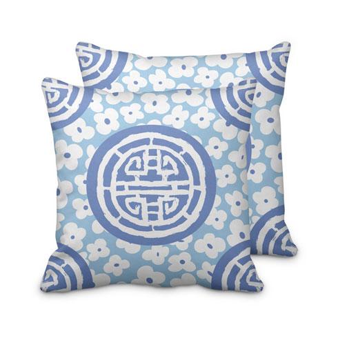$95.00 Blue Medallion Pillow