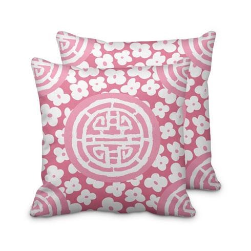 $95.00 Pink Medallion Pillow