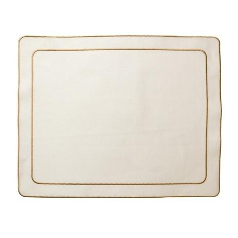 $100.00 Ivory w/ Gold - Set of 4