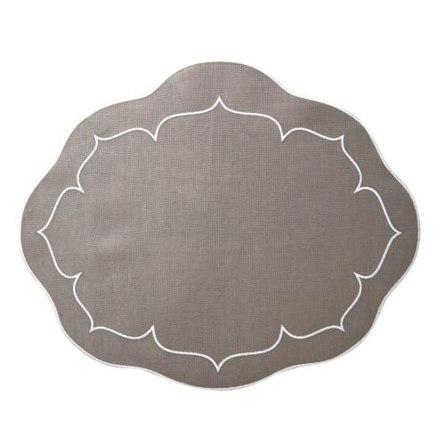 Skyros Designs  Linho Oval Placemats  Charcoal - Set of 4 $108.00