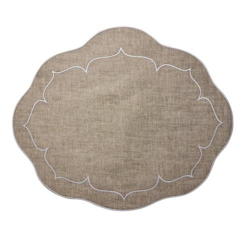Skyros Designs  Linho Oval Placemats  Dark Natural - Set of 4 $100.00