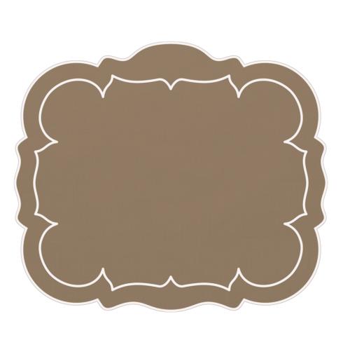 $100.00 Rectangular Linen Mat Gray - Set of 4