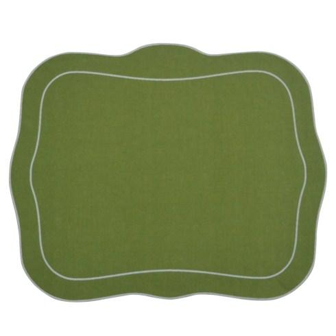 Skyros Designs  Linho Patrician Placemats Green - Set of 4 $108.00