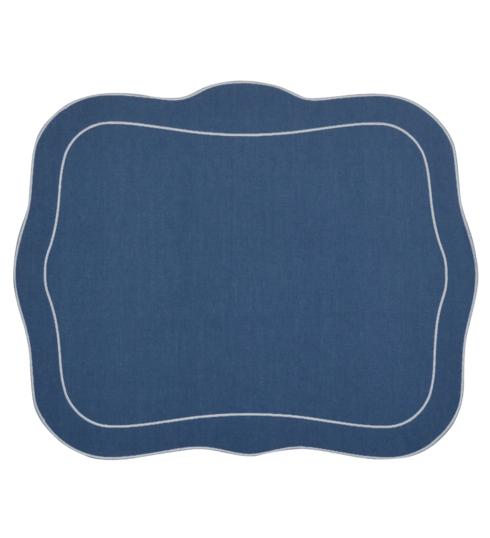 Skyros Designs  Linho Patrician Placemats Blue - Set of 4 $100.00
