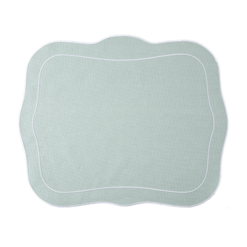 Skyros Designs  Linho Patrician Placemats Ice Blue - Set of 4 $108.00