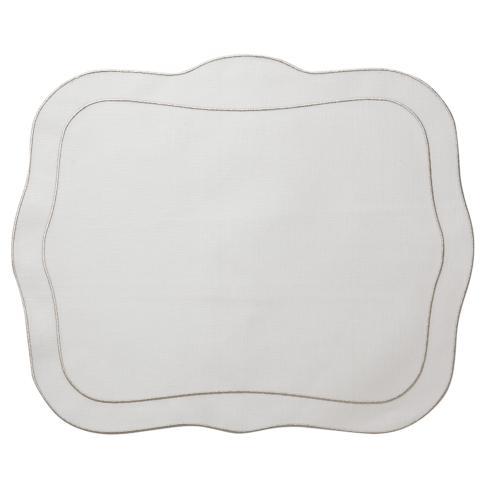 $108.00 White with Platinum - Set of 4