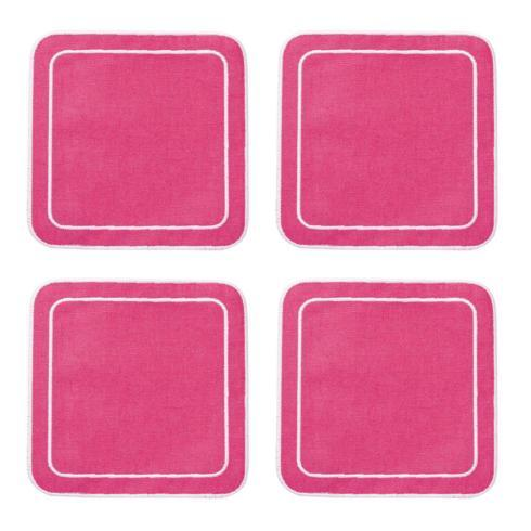 $33.00 Fucshia - Boxed Set of 4