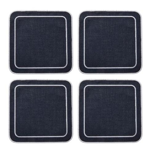 $33.00 Navy - Boxed Set of 4