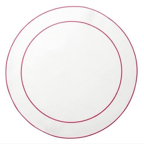 $108.00  White with Fucshia - Set of 4