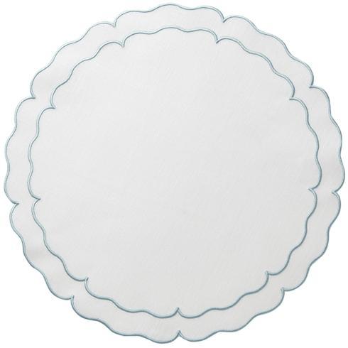 $100.00  White w/Ice Blue - Set of 4