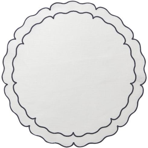 $108.00 White w/ Navy - Set of 4