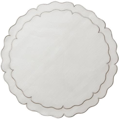 $100.00 White w/ Platinum - Set of 4