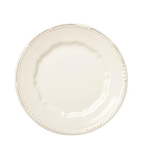 Skyros Designs  Isabella - Ivory Simple Salad Plate  $33.00