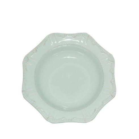 Skyros Designs  Isabella - Ice Blue Pasta Bowl/Rim Soup  $40.00