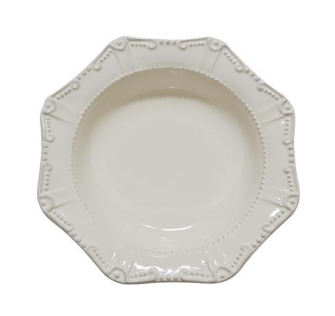 Skyros Designs  Isabella - Ivory Pasta Bowl/Rim Soup  $39.00
