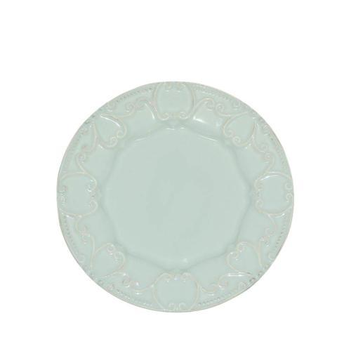 Skyros Designs  Isabella - Ice Blue Embossed Salad Plate $33.00