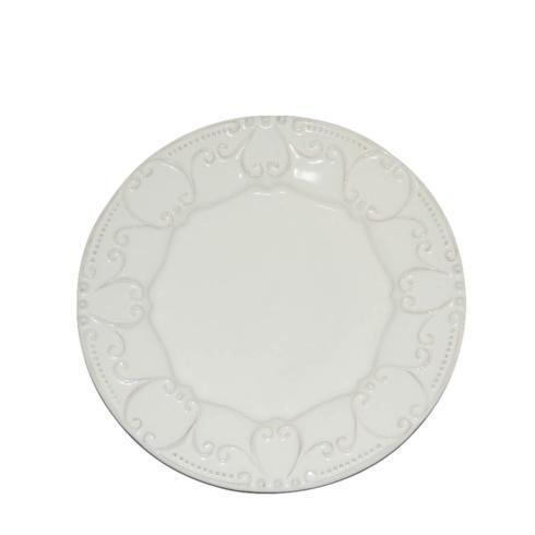 Skyros Designs  Isabella - Ivory Embossed Salad Plate $33.00