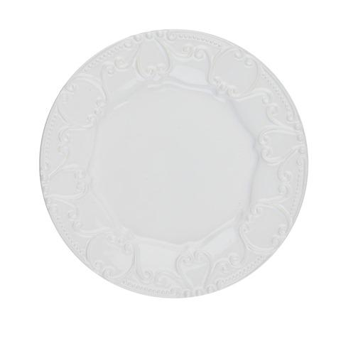 Skyros Designs  Isabella - Pure White Embossed Salad Plate $33.00