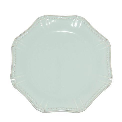 Skyros Designs  Isabella - Ice Blue Dinner Plate - Octagonal $40.00