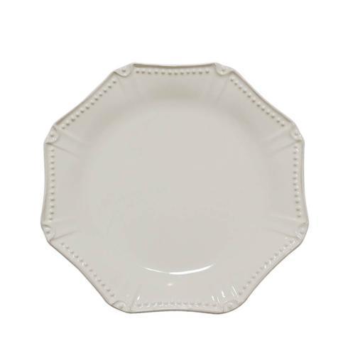 Skyros Designs  Isabella - Ivory Dinner Plate - Octagonal $40.00