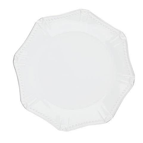 Skyros Designs  Isabella - Pure White Dinner Plate - Octagonal $40.00
