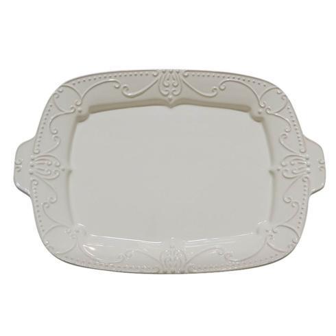 Skyros Designs  Isabella - Ivory Rectangular Tray $143.00