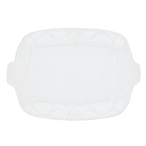 Skyros Designs  Isabella - Pure White Rectangular Tray $143.00