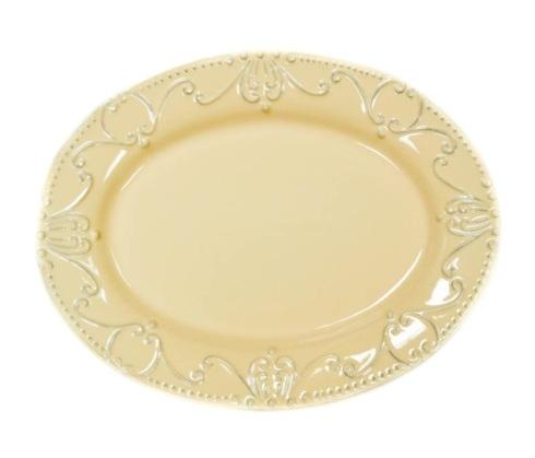 $114.00 Oval Platter  sc 1 st  The Ivy Cottage & Skyros Designs Isabella - Yellow/Creme products