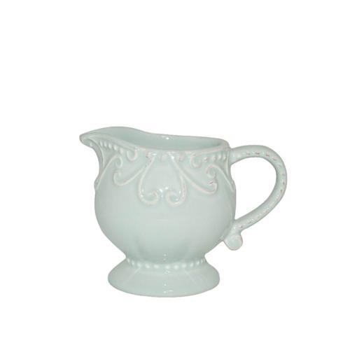 Skyros Designs  Isabella - Ice Blue Creamer $34.00