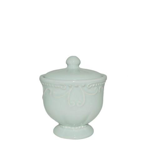 Skyros Designs  Isabella - Ice Blue Covered Sugar $38.00