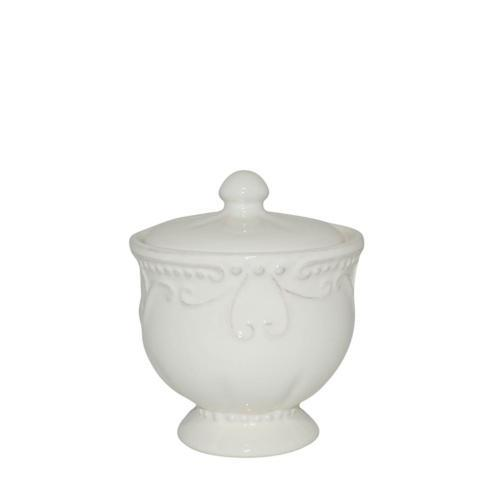 Skyros Designs  Isabella - Ivory Covered Sugar $38.00