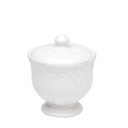 Skyros Designs  Isabella - Pure White Covered Sugar $38.00