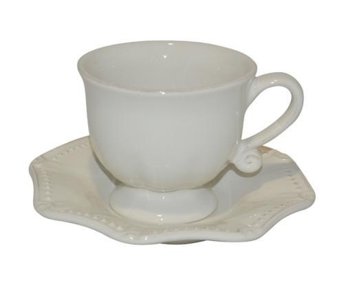Skyros Designs  Isabella - Ivory Cup & Saucer $40.00