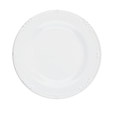 Skyros Designs  Isabella - Pure White Bread/Side Plate $28.00