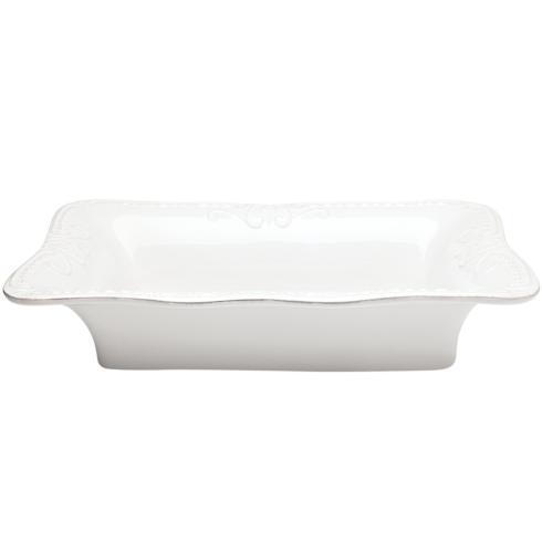 Skyros Designs  Isabella - Pure White Large Rectangular Baker $90.00