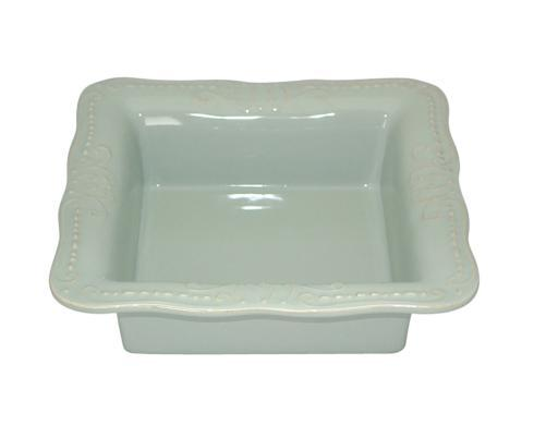 Skyros Designs  Isabella - Ice Blue Square Baker $90.00