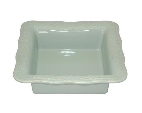 Skyros Designs  Isabella - Ice Blue Square Baker $90.00