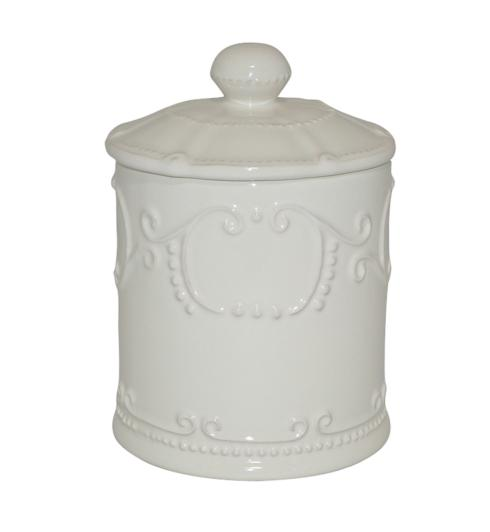 Skyros Designs  Isabella - Ivory Canister w/ Seal $72.00