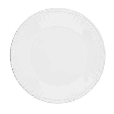 Skyros Designs  Isabella - Pure White Dinner Plate - Round $40.00
