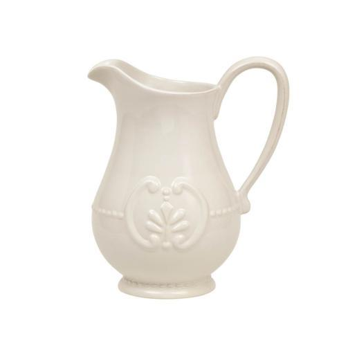 Skyros Designs  Isabella - Pure White Pitcher $85.00