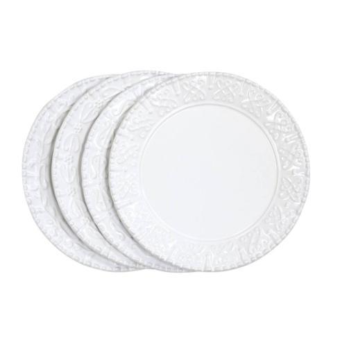 Skyros Designs  Historia - Paper White Salad Plates - Sold in an assorted set of 4 $127.00