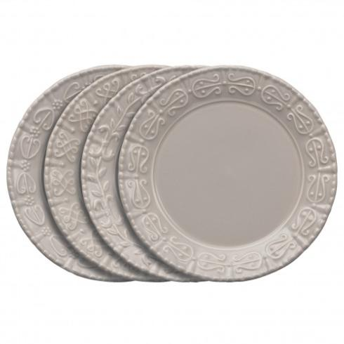 Skyros Designs  Historia - Greystone Salad/Dessert Plate Assortment $127.00