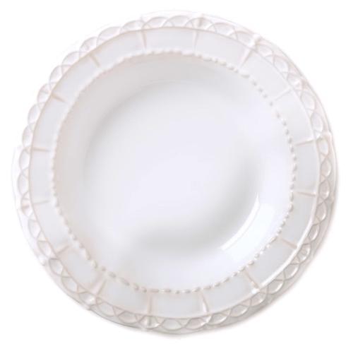 Skyros Designs  Historia - Paper White Pasta Bowl/Rim Soup  $40.00