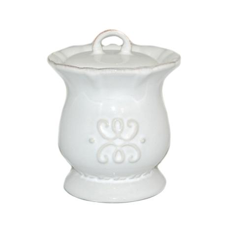 Skyros Designs  Historia - Paper White Sugar Bowl $37.00