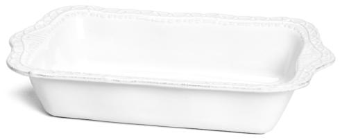Skyros Designs  Historia - Paper White Large Rectangular Baker $90.00