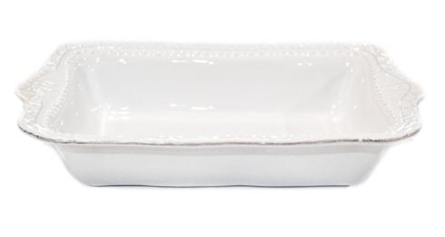 Skyros Designs  Historia - Paper White Medium Rectangular Baker $77.00
